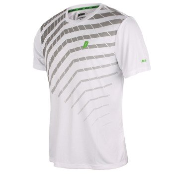 koszulka tenisowa męska PRINCE GRAPHIC CREW / 3M099-168