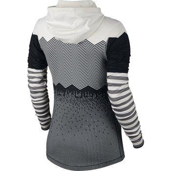 koszulka termoaktywna damska NIKE PRO HYPERWARM ENGINEERED PRINT HOODIE / 639059-010