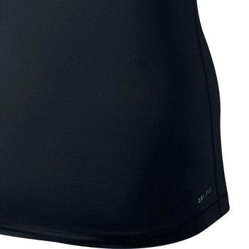 koszulka termoaktywna damska NIKE PRO SHORTSLEEVE V-NECK / 589370-010