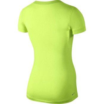 koszulka termoaktywna damska NIKE PRO SHORTSLEEVE V-NECK / 589370-704