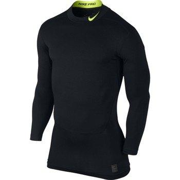 koszulka termoaktywna męska NIKE PRO WARM COMPRESSION LONGSLEEVE MOCK LITE / 688747-011