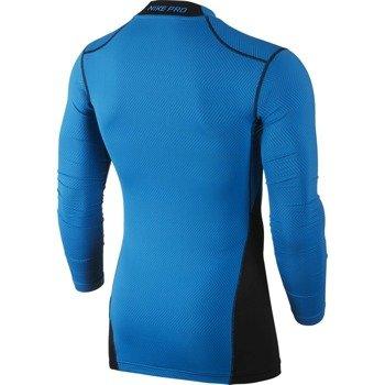 koszulka termoaktywna męska NIKE PRO WARM COMPRESSION LONGSLEEVE MOCK LITE / 688747-407