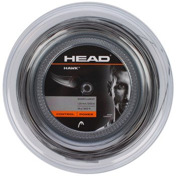 naciąg tenisowy HEAD HAWK REEL 200m grey / 281113 GR
