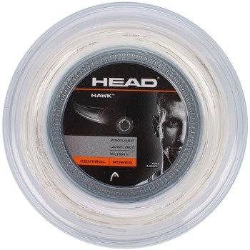 naciąg tenisowy HEAD HAWK REEL 200m white / 281113 WH