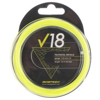 naciąg tenisowy ISO-SPEED V18 12M / TNI-027
