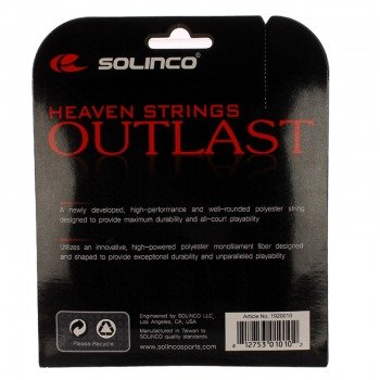 naciąg tenisowy SOLINCO HEAVEN STRINGS OUTLAST 12m
