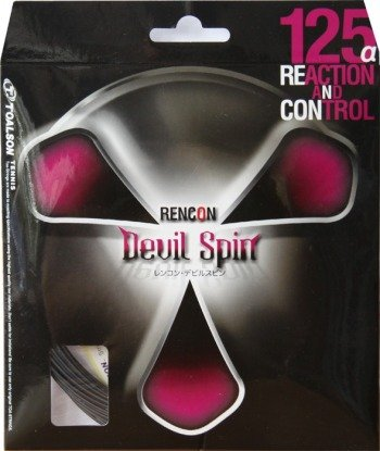 naciąg tenisowy TOALSON  RENCON DEVIL SPIN 12 m