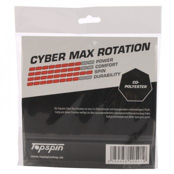 naciąg tenisowy TOPSPIN CYBER MAX ROTATION 1,27 mm