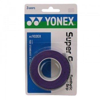 owijka tenisowa YONEX X3 SUPER GRAP PURPLE / AC102EX