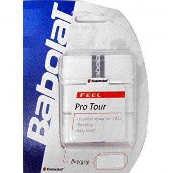 owijki tenisowe BABOLAT  PRO TOUR  (3szt.) white