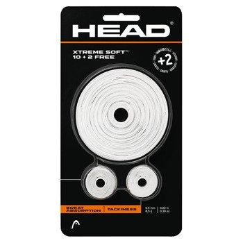 owijki tenisowe HEAD XTREMESOFT 10 + 2 white