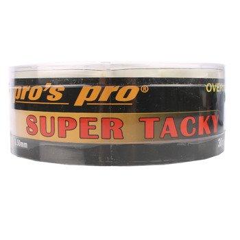 owijki tenisowe PRO'S PRO SUPER TACKY   x30  white