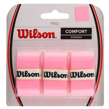 owijki tenisowe WILSON PRO OVERGRIP COMFORT PINK x3 / WRZ4014