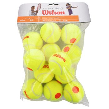 piłki tenisowe WILSON STARTER GAME BALLS x12