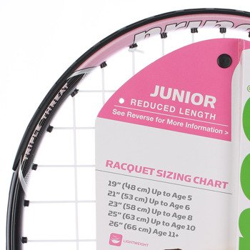 rakieta tenisowa juniorska PRINCE PINK 19