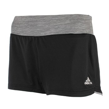 spodenki do biegania damskie ADIDAS GRETE HEATHER MESH SHORT / AJ5857