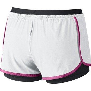 spodenki sportowe damskie NIKE FULL FLEX 2 IN 1 SHORT / 642669-100