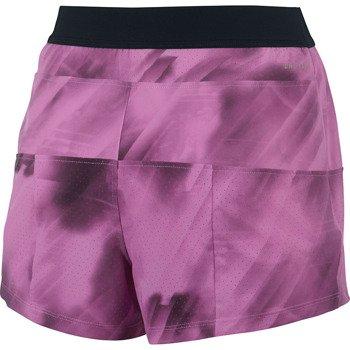 spodenki tenisowe damskie NIKE WOVEN SHORT / 596709-514