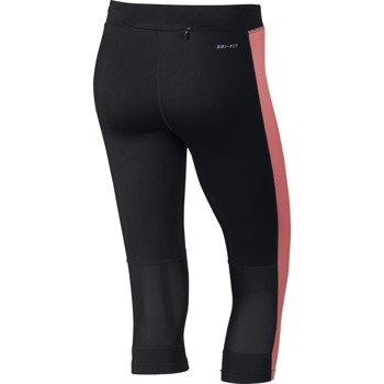 spodnie do biegania damskie 3/4 NIKE DRI-FIT ESSENTIAL CAPRI / 645603-014