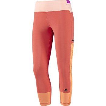 spodnie sportowe damskie 3/4 ADIDAS STUDIO POWER TIGHT / D89608