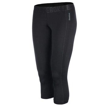spodnie sportowe damskie 3/4 REEBOK WORKOUT READY CAPRI / B86322