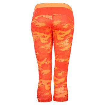 spodnie sportowe damskie 3/4 REEBOK WOROUT READY PRINTED CAPRI / AP4301