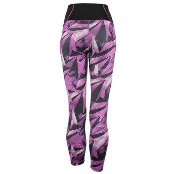 spodnie sportowe damskie ADIDAS 3/4 HIGH RISE TIGHT ALLOVER PRINTED / AY6187