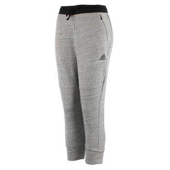 spodnie sportowe damskie ADIDAS COTTON FLEECE 3/4 PANT / S93962