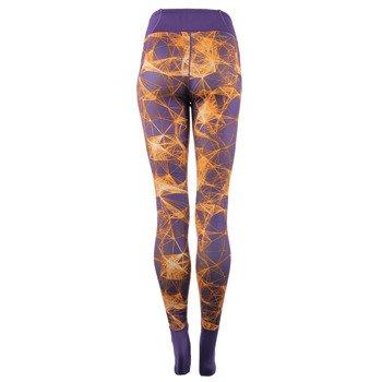 spodnie sportowe damskie ADIDAS SUPER LONG TIGHT ALLOVER PRINTED / AY3160