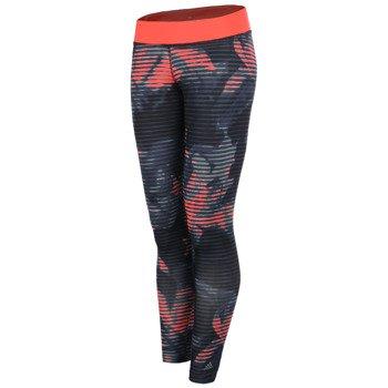 spodnie sportowe damskie ADIDAS ULTIMATE ALLOVER PRINTED TIGHT / AB7163