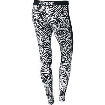 spodnie sportowe damskie NIKE LEG-A-SEE-ALLOVER PRINTED / 739967-010