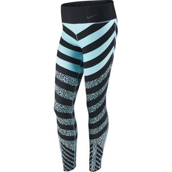 spodnie sportowe damskie NIKE LEGENDARY MEZZO ZEBRA / 689850-466