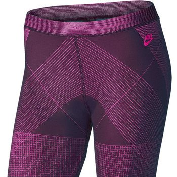 spodnie sportowe damskie NIKE RUN PRINT LEG