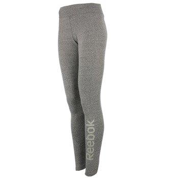 spodnie sportowe damskie REEBOK LOGO LEGGING / AJ3767