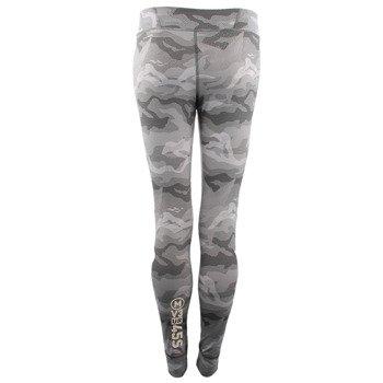 spodnie sportowe damskie REEBOK ONE SERIES CAMO TIGHT / AJ0686
