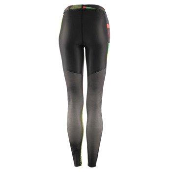 spodnie sportowe damskie REEBOK REEBOK CROSSFIT COMPRESSION TIGHT ALLOVER PRINTED / AP9189