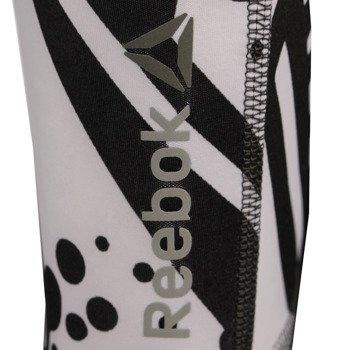 spodnie sportowe damskie REEBOK YOGA GRAFFITI COLLAB TIGHT / AI2011