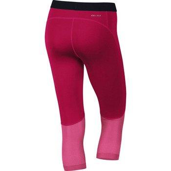 spodnie termoaktywne damskie 3/4 NIKE PRO HYPERCOOL CAPRI / 589376-691