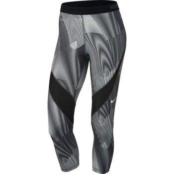 spodnie termoaktywne damskie 3/4 NIKE PRO HYPERCOOL FREQUENCY CAPRI / 725475-010