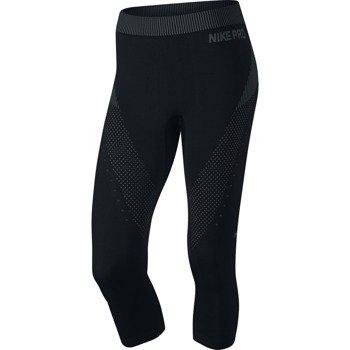 spodnie termoaktywne damskie 3/4 NIKE PRO HYPERCOOL LIMITLESS CAPRI / 725635-010