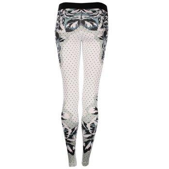 spodnie termoaktywne damskie NIKE PRO FLORAL DOT / 799488-100