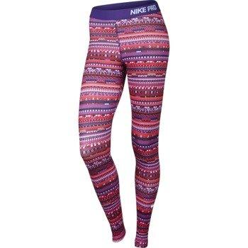 spodnie termoaktywne damskie NIKE PRO WARM 8 BIT TIGHT / 683717-696