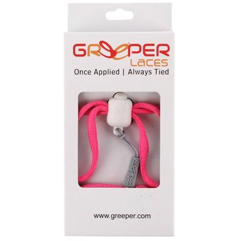 sznurówki zaciskowe GREEPER SPORT (1 para) / PINK