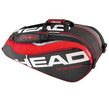torba tenisowa HEAD TOUR TEAM SUPERCOMBI / 283226 BK/RD