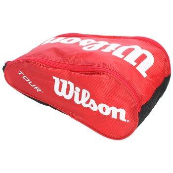 torba tenisowa na buty WILSON TOUR SHOE BAG II RED / WRZ843387
